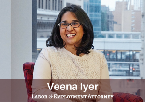 Veena Iyer Named as 2019 LCLD Fellow