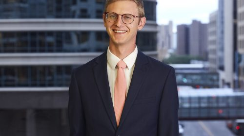 Newsroom image for the post Nilan Johnson Lewis Welcomes Andrew Peterson as Associate