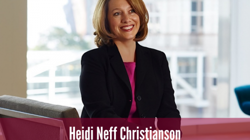 Newsroom image for the post NJL President Heidi Christianson Honored at SPACC Executive Reception