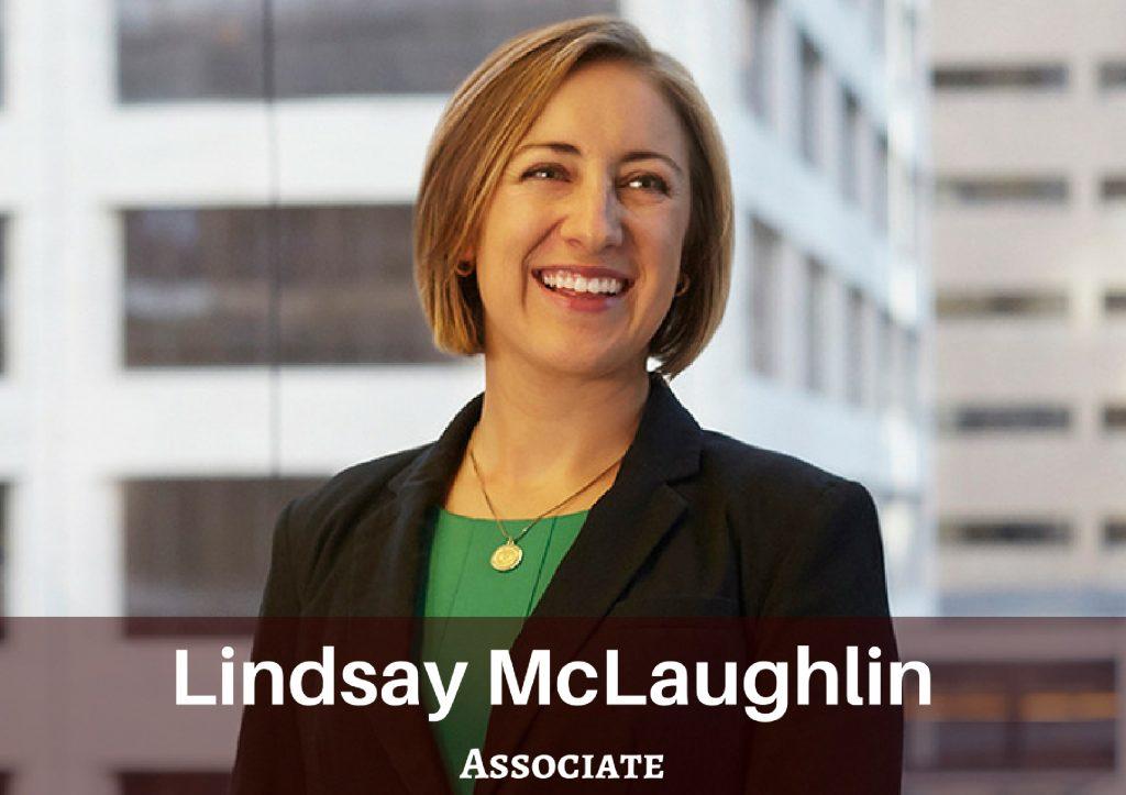 Nilan Johnson Lewis Welcomes Lindsay McLaughlin