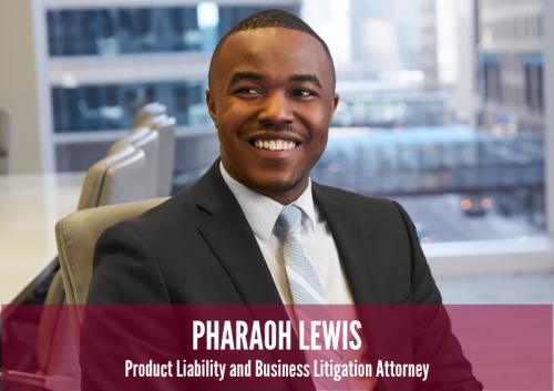 Newsroom image for the post Pharaoh Lewis Joins Nilan Johnson Lewis as Associate