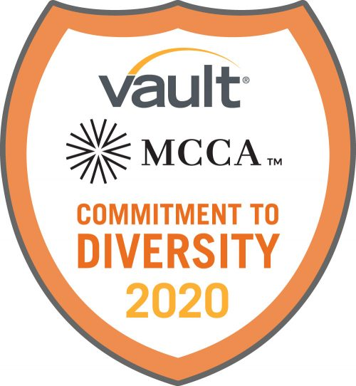 Vault, MCCA Commitment To Diversity Seal