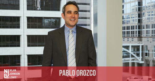 Newsroom image for the post NJL Names Pablo Orozco as Leadership Council on Legal Diversity Fellow