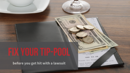Newsroom image for the post Minnesota Restaurateurs: 5 Steps to Take Now to Avoid a Tip-Pooling Class-Action Lawsuit
