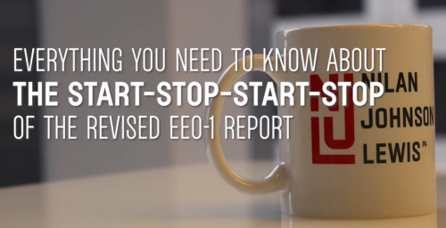 Newsroom image for the post A Brief History of the Start-Stop-Start-Stop of the Revised EEO-1 Report