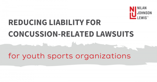 Newsroom image for the post Reducing Liability for Concussion-Related Lawsuits: Document Your Training and Education