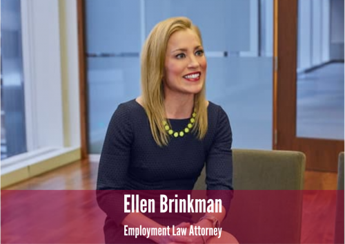 Newsroom image for the post Ellen Brinkman Recognized in Minnesota Lawyer's Employment Law Edition of the Power 30