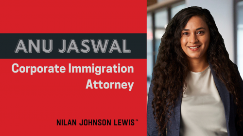 Newsroom image for the post Immigration Team Welcomes Anu Jaswal to NJL