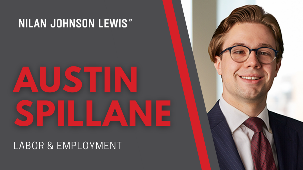 NJL Adds Austin Spillane to Labor and Employment Practice