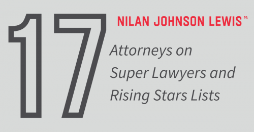 Newsroom image for the post Seventeen NJL Lawyers on 2021 Super Lawyers Lists