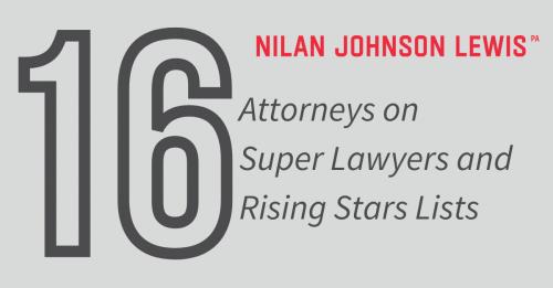Newsroom image for the post Sixteen NJL Lawyers on 2021 Super Lawyers Lists