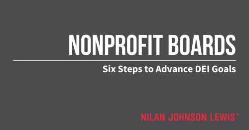 Newsroom image for the post Six Governance Steps Nonprofits Can Take to Advance DEI Goals